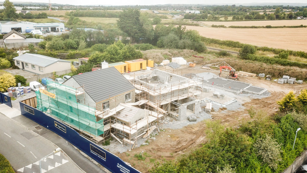 Work progressing at Harroville site